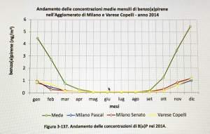 benzopirene 2014 grafico